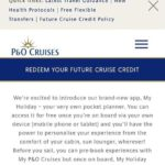 What's this? P&O My Holiday App
